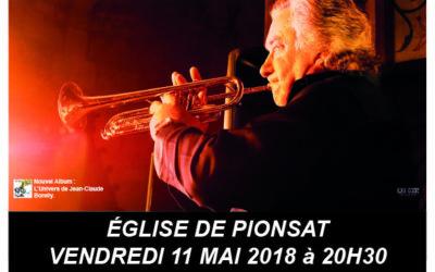 Vendredi 11 Mai : Concert du trompettiste Jean-Claude BORELLY
