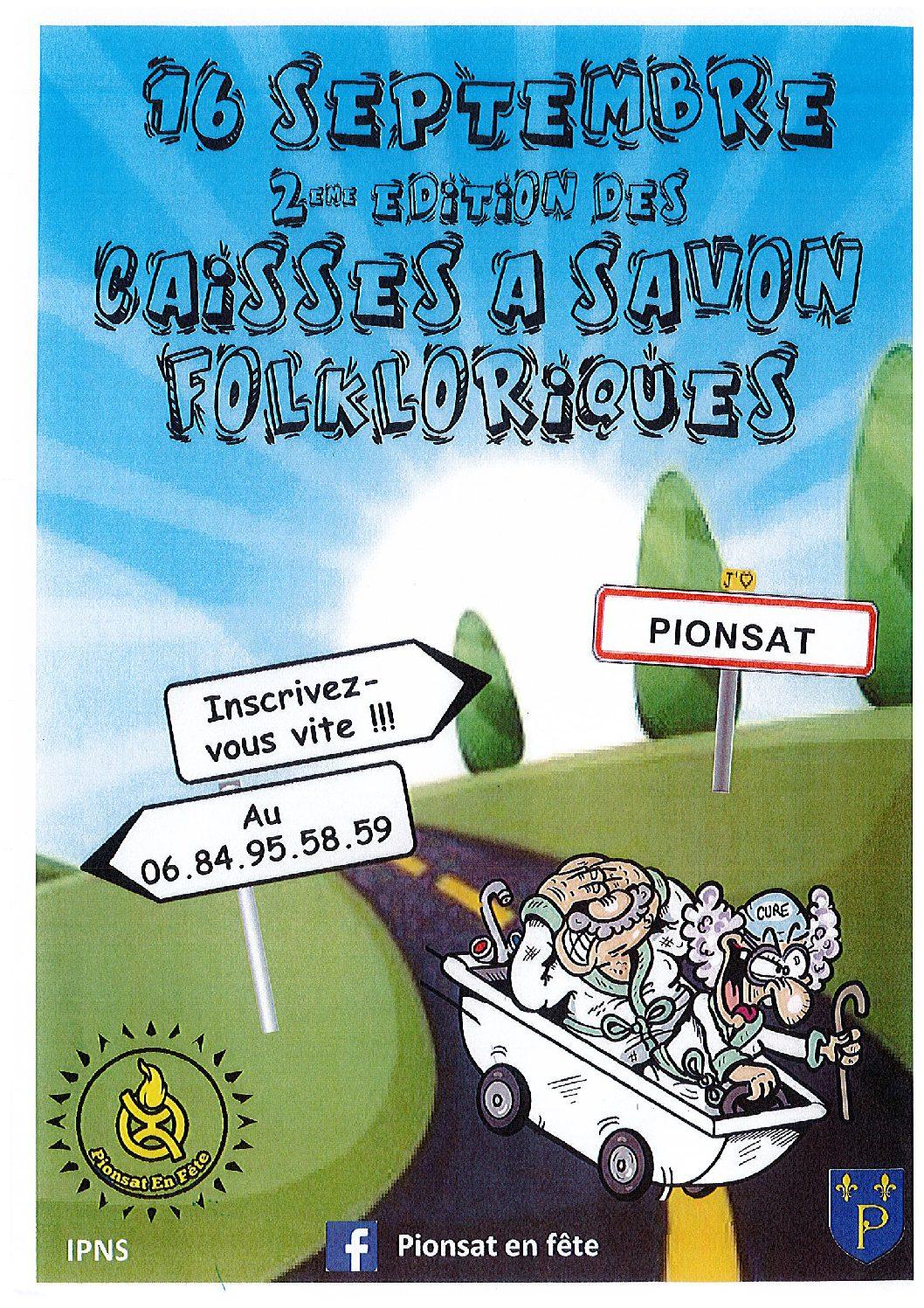Caisses à savon : 2e édition !