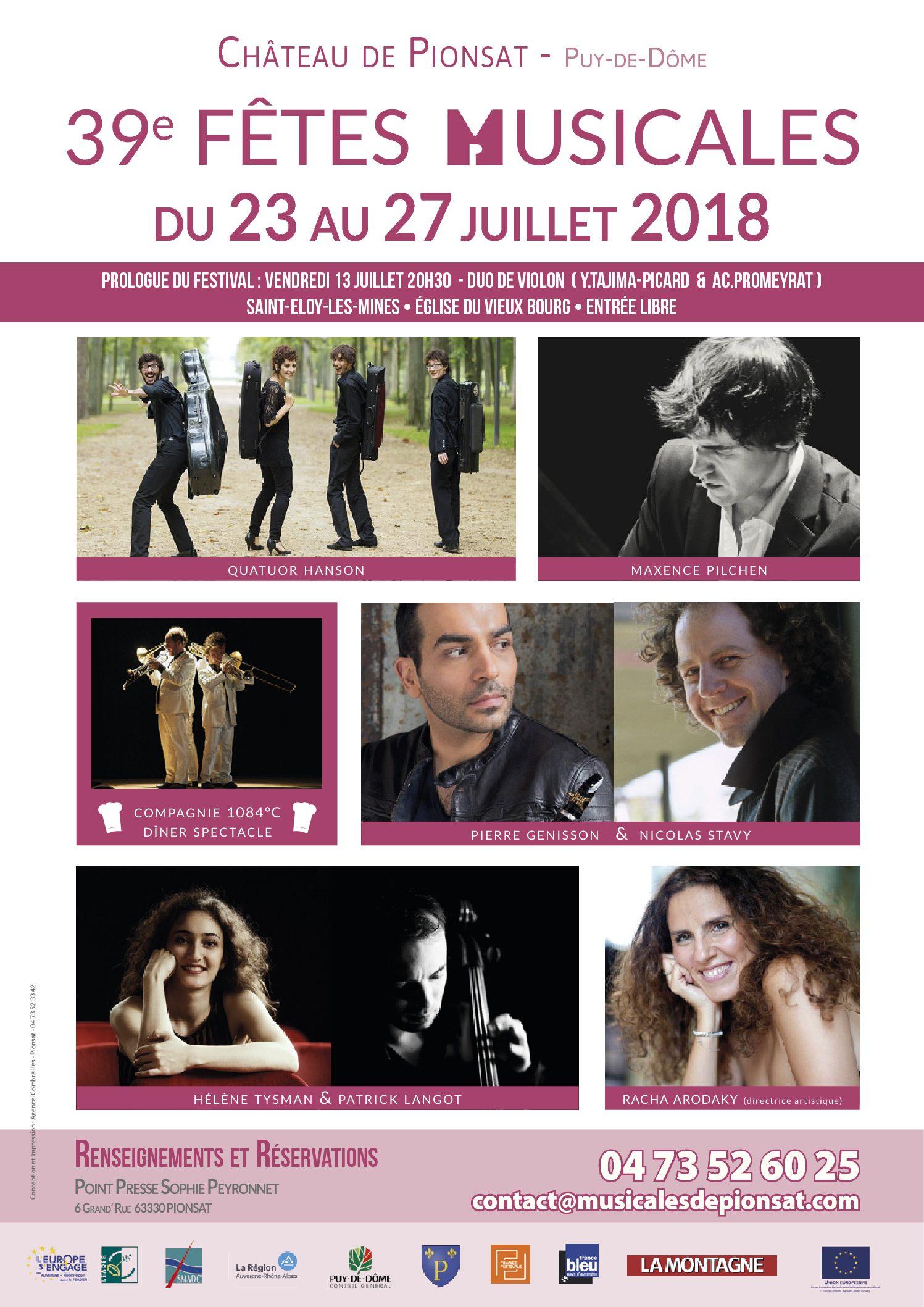 39e Fêtes Musicales
