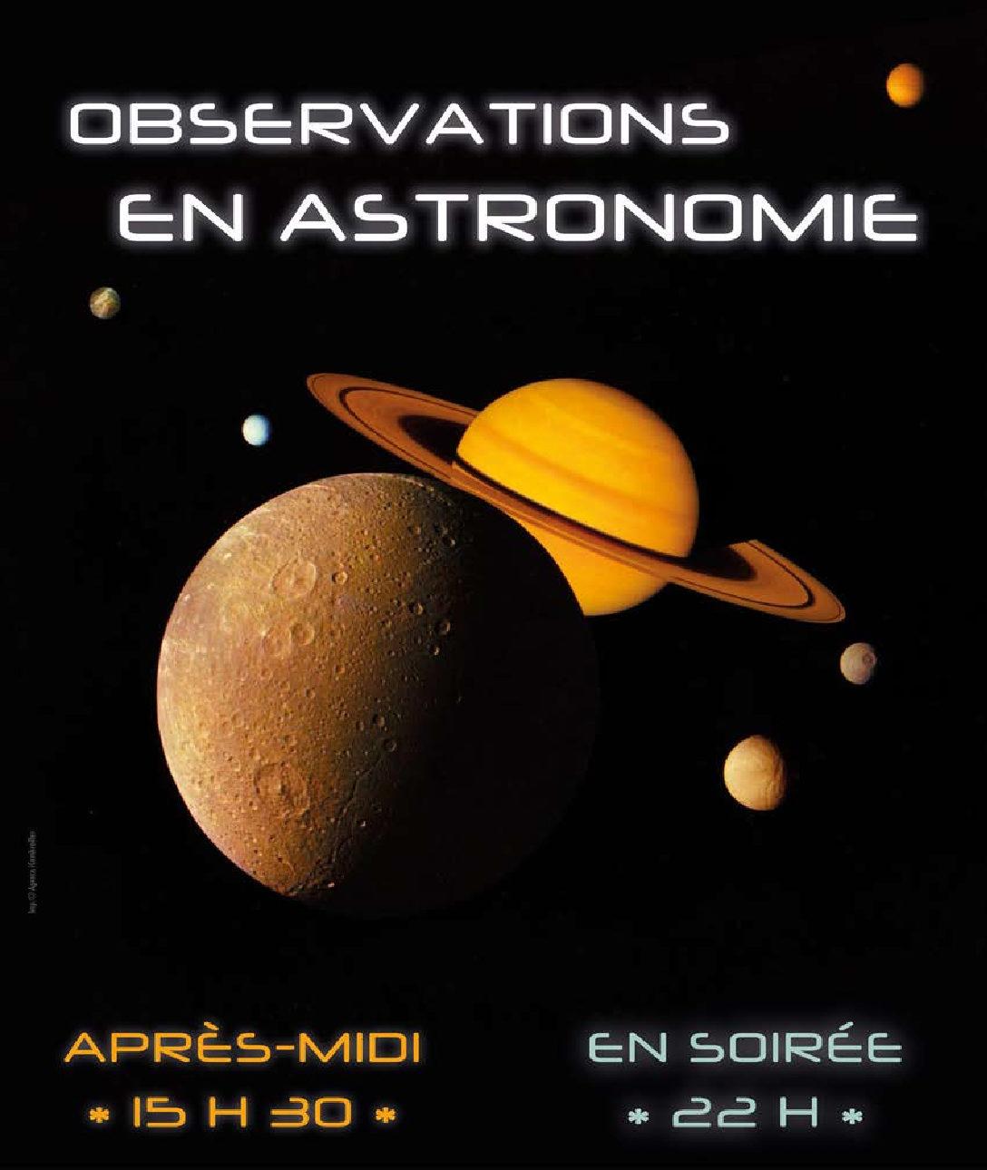 Observation en astronomie