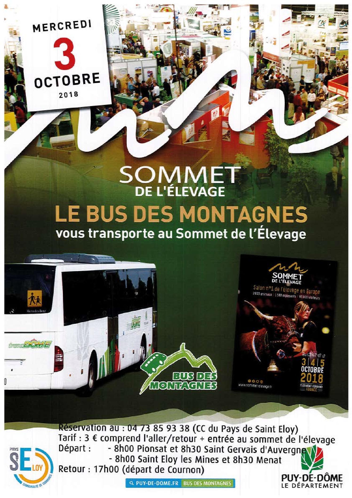 En Bus pour le Sommet de l'Élevage 2018 !