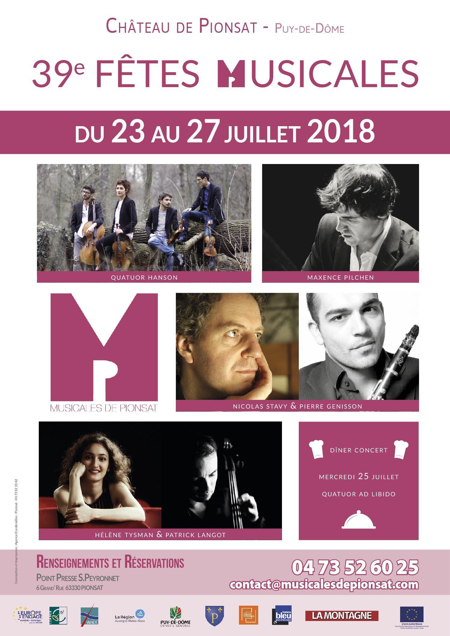 Fêtes Musicales 2018