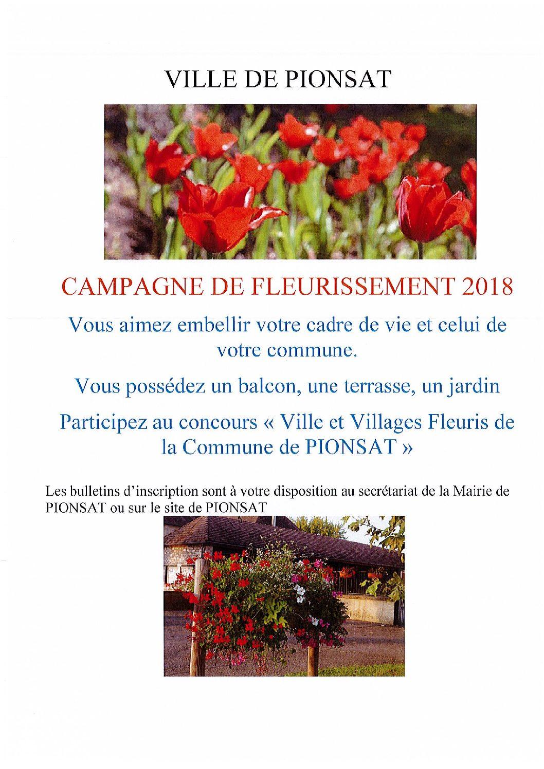 Concours «Villes et villages fleuris»