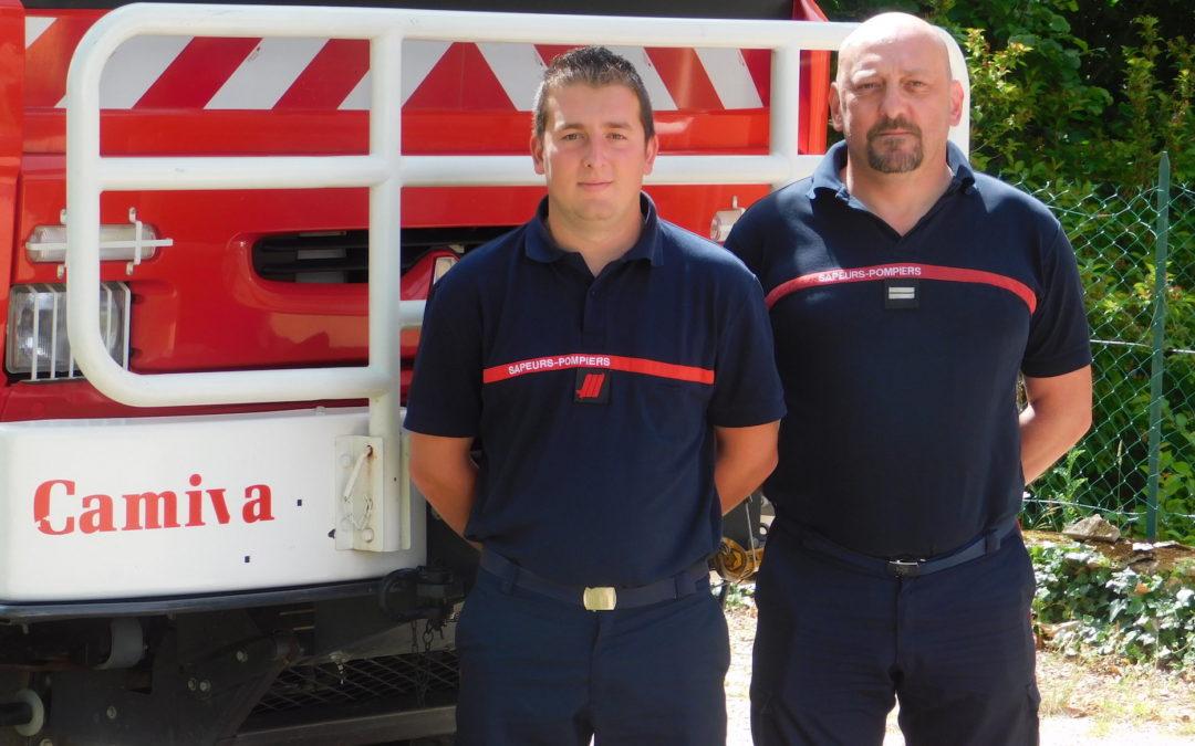 Les Sapeurs-Pompiers de PIONSAT à l'honneur
