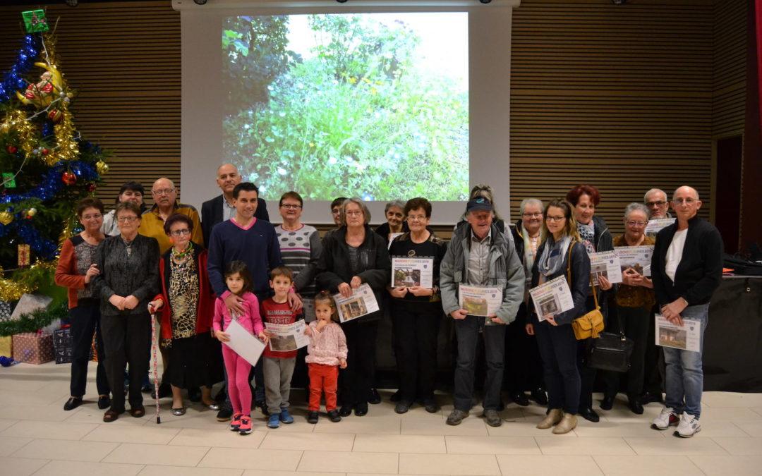 Remise des prix du Concours des Maisons Fleuries et des Jardins Potagers de Pionsat