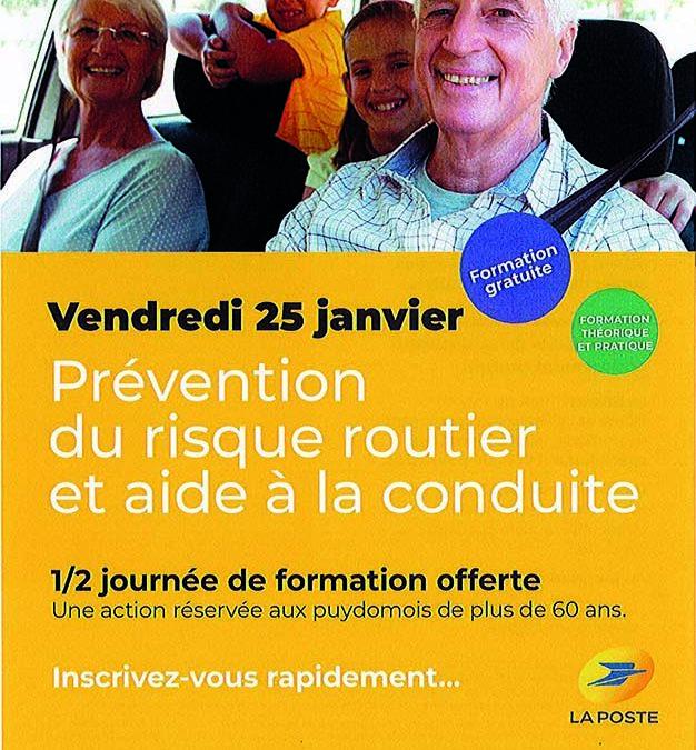 Prévention du risque routier et aide à la conduite