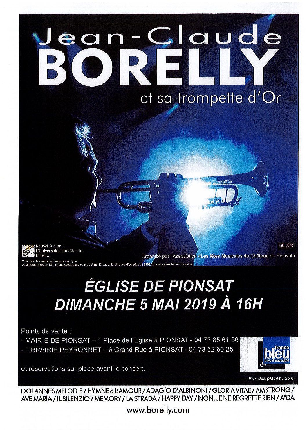 Concert de Borelly