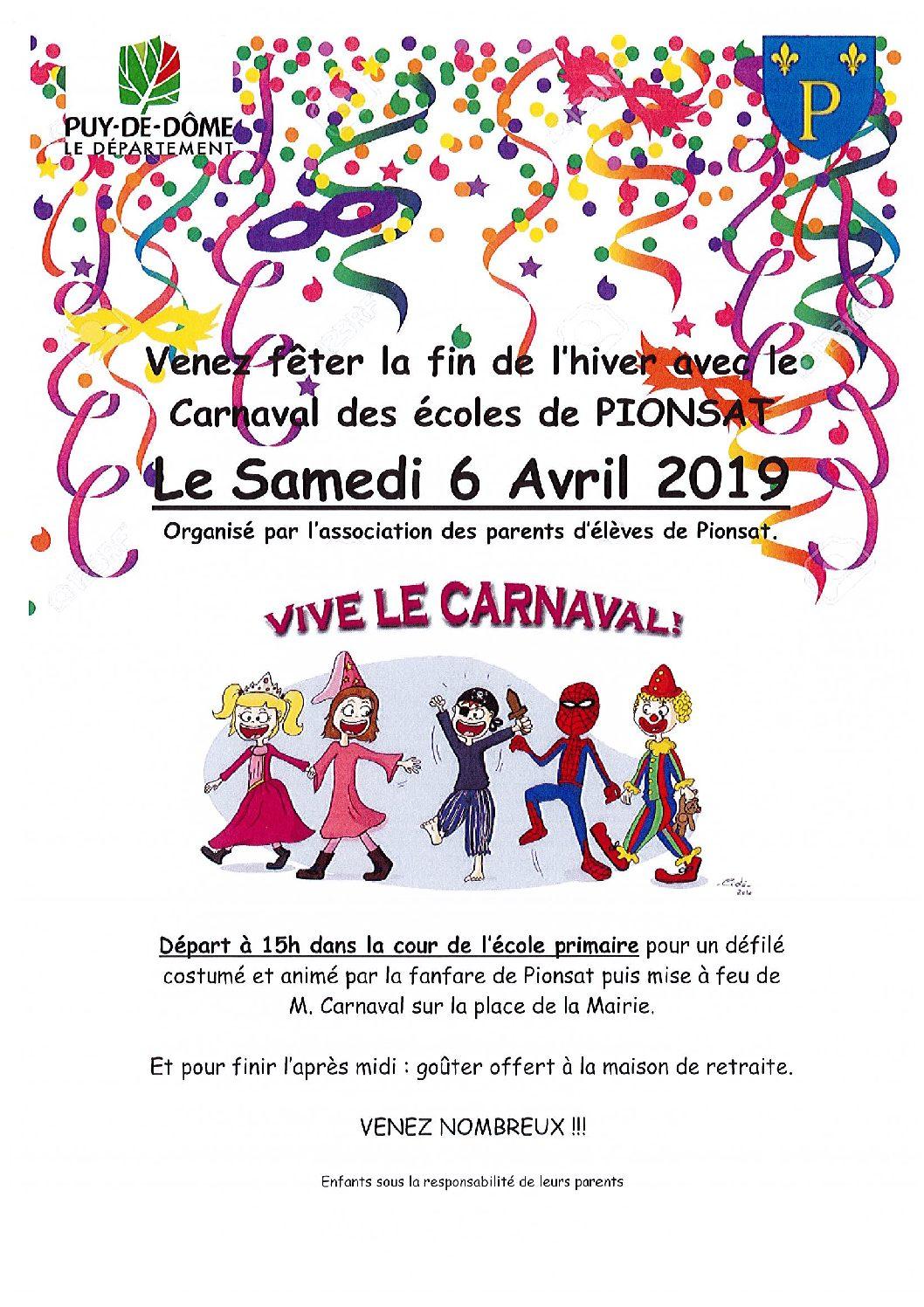 Carnaval du 6 avril