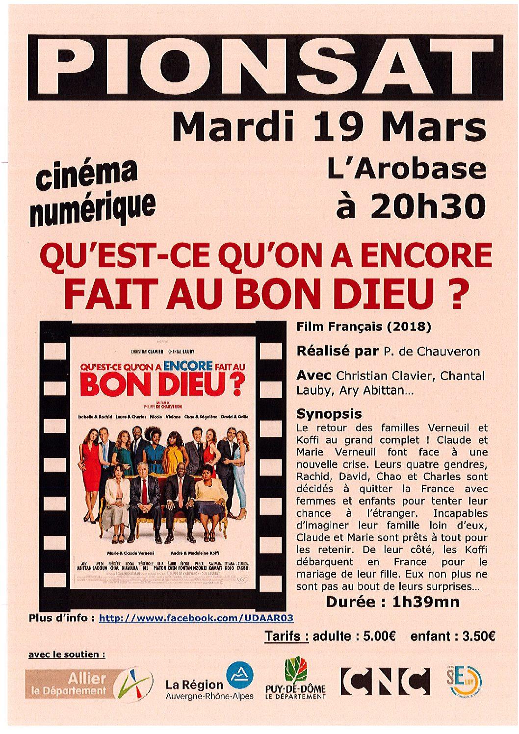CINEMA DU 19 MARS