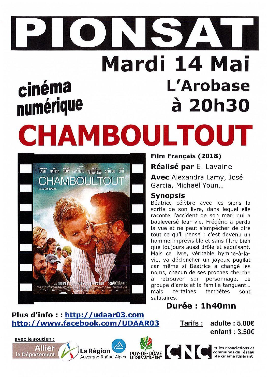 CINEMA DU 14 MAI