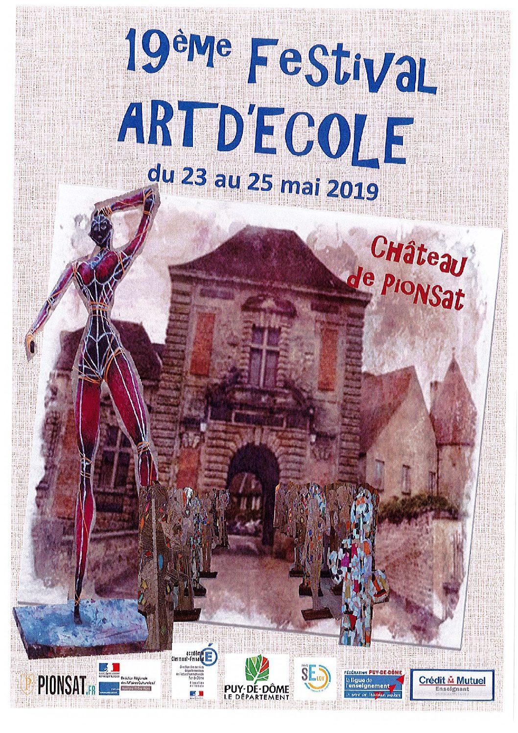 FESTIVAL ART D'ECOLE