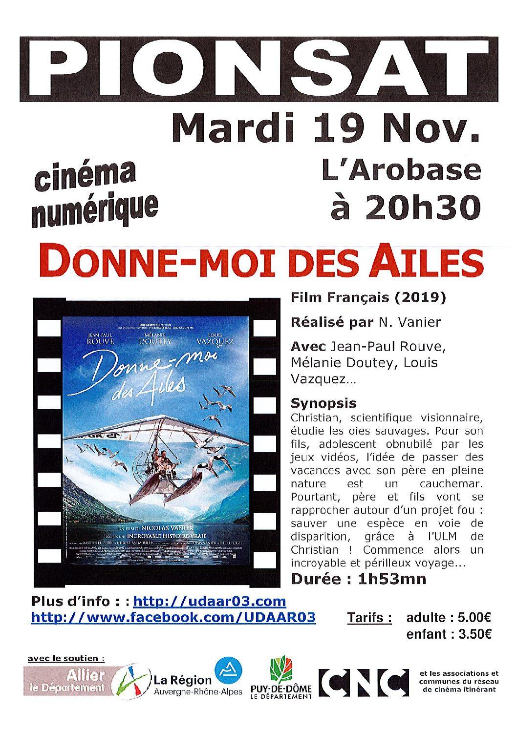 CINEMA DU 19 NOVEMBRE