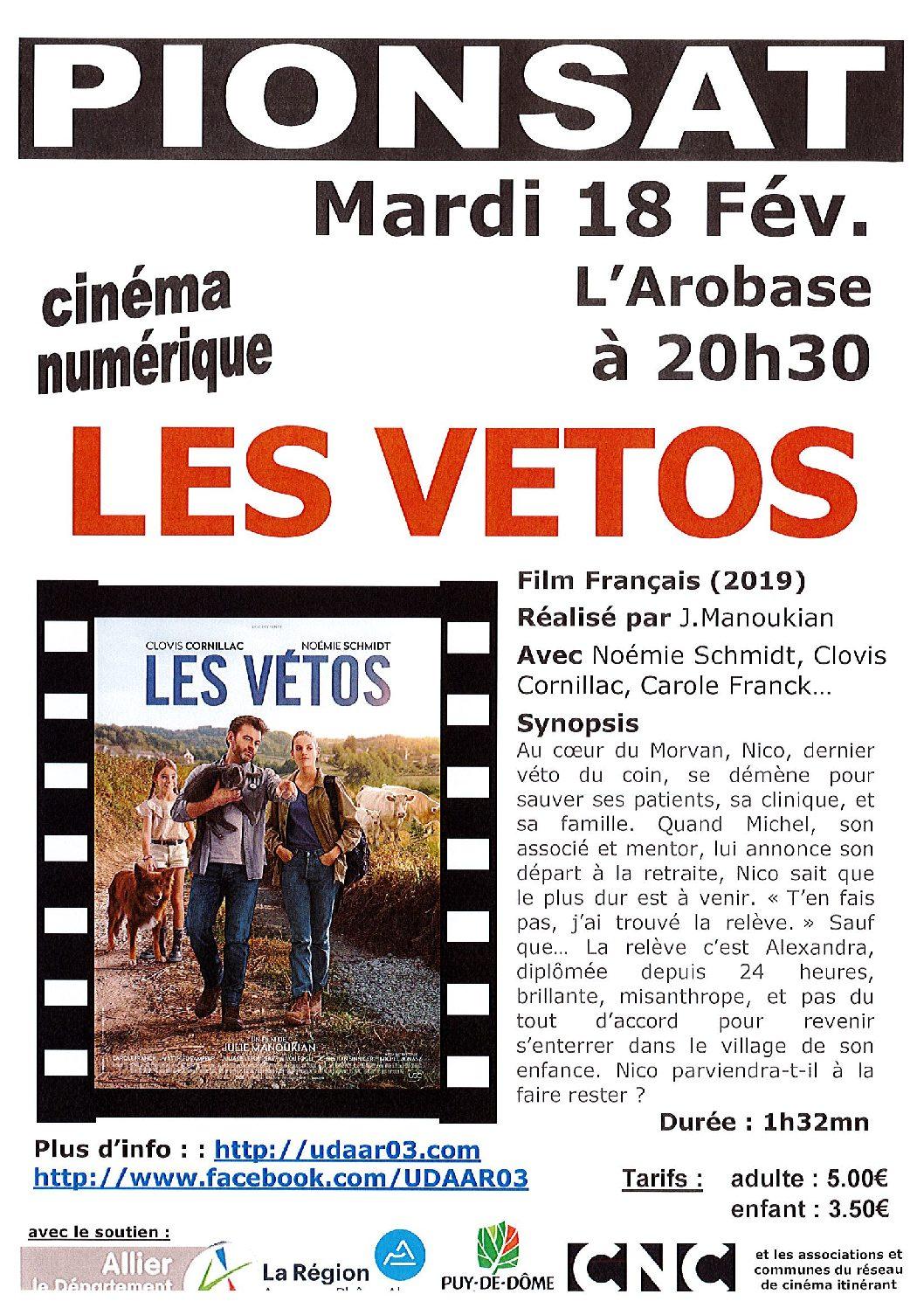 CINEMA DU 18 FEVRIER 2020