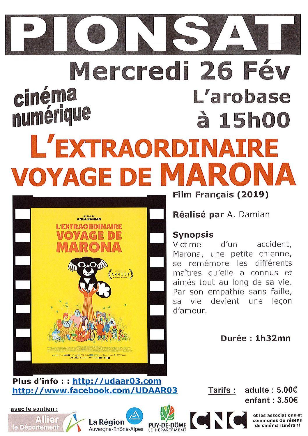 CINEMA DU 26 FEVRIER